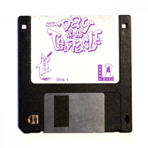 Day of the Tentacle, disk one of six