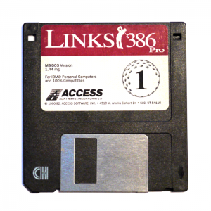 Links386 Pro, disk one of two