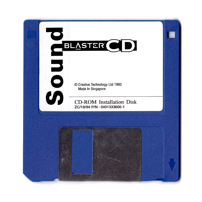SoundBlaster CD Installation Disk, 3.5''