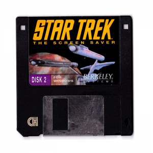 Star Trek - After Dark Screensaver, 3.5'' - disk two