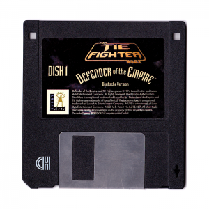 TIE-Fighter - Defender of the Empire - Old Floppy Disk one