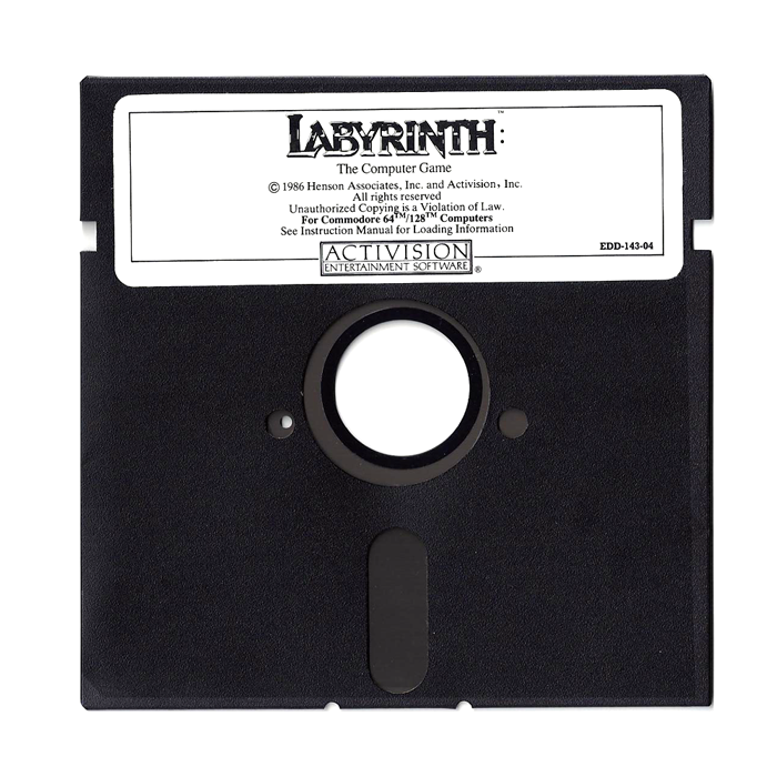 Labyrinth by LucasArts, 5.25''